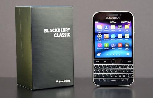 BlackBerry ngừng sản xuất điện thoại Classic