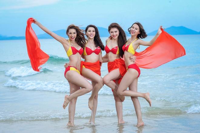 Bikini Vietjet tỏa sáng cùng Cuộc thi The Face Vietnam