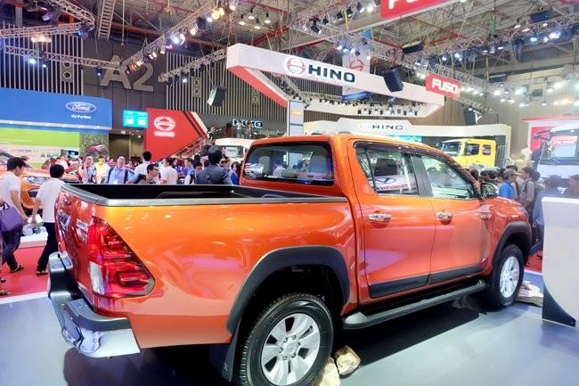 Việt Nam thành thị trường xuất khẩu ô tô bán tải của Thái Lan
