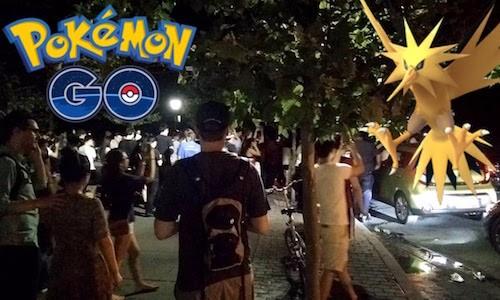 Người Mỹ phát cuồng Pokemon Go
