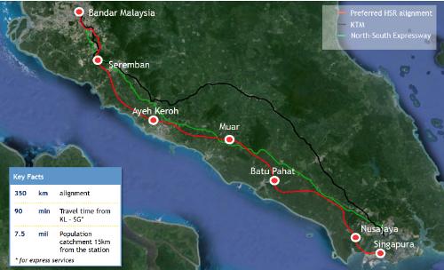 Tuyến tàu siêu cao tốc xuyên quốc gia đầu tiên tại Đông Nam Á