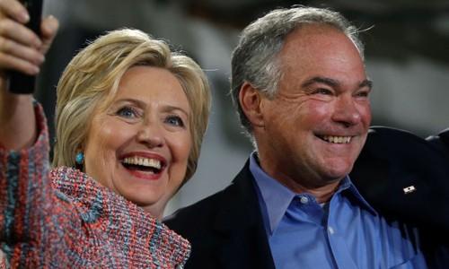 Hillary Clinton chính thức chọn ứng viên phó tổng thống