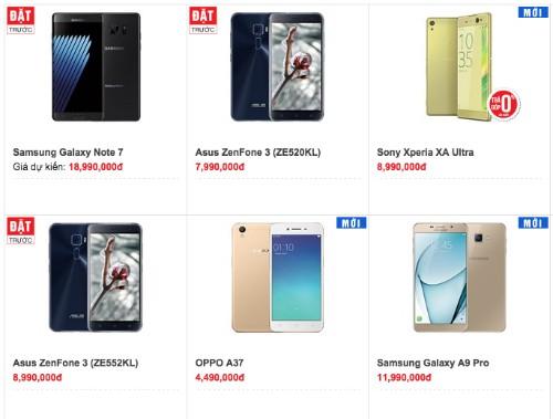 Galaxy Note 7 có giá dự kiến từ 19 triệu đồng, bán giữa tháng 8