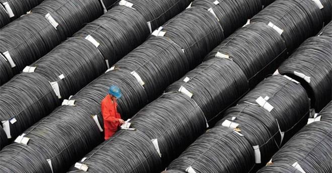 """Thép Trung Quốc gắn """"mác"""" Việt để xuất khẩu sang EU"""