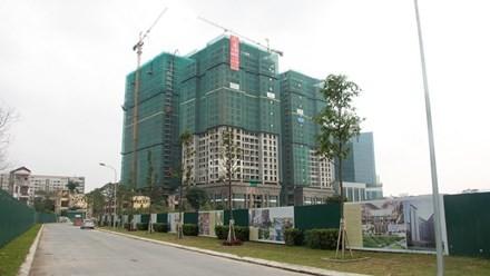 """Hà Nội, hơn 30 dự án bất động sản """"cắm"""" tại ngân hàng"""