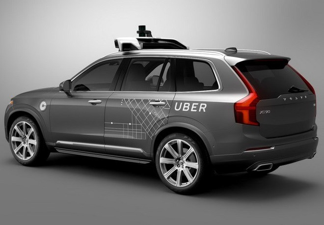 Volvo công bố thương vụ hợp tác trị giá 300 triệu USD với Uber
