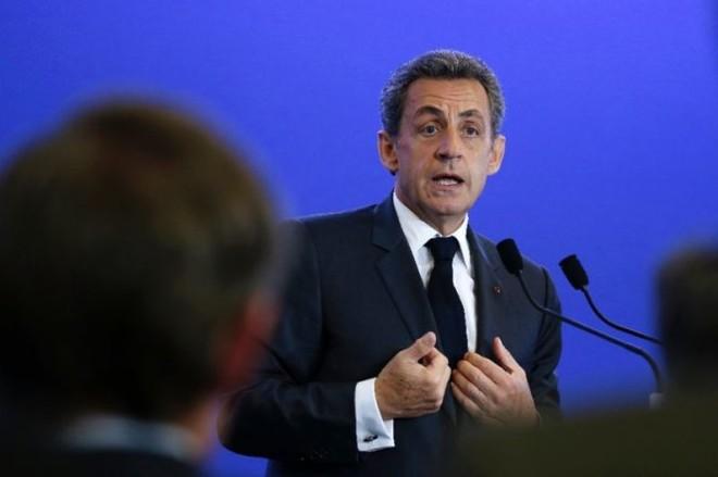 Ông Sarkozy chính thức tuyên bố tranh cử tổng thống Pháp