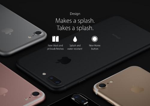 Apple không bảo hành iPhone 7 bị ngấm nước