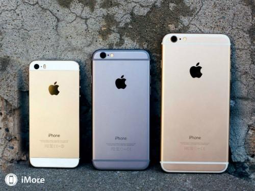Giá iPhone 6 Plus và 5s lao dốc