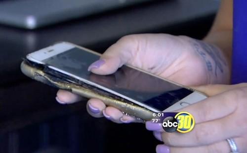 iPhone 6 Plus lại phát nổ dù dùng sạc Apple