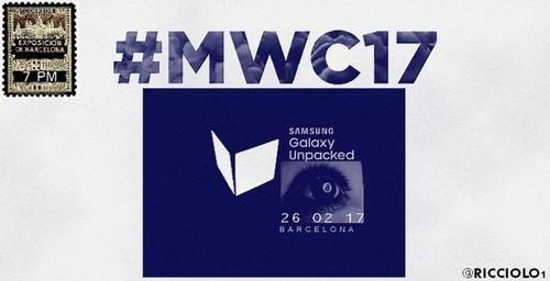 Galaxy S8 sẽ ra mắt ngày 26/2 năm sau với bảo mật quét mống mắt