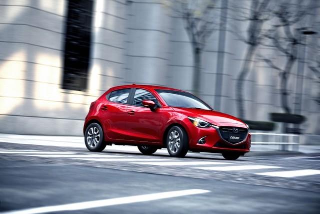 Mazda trình làng phiên bản nâng cấp Mazda2