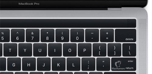 MacBook có màn hình OLED phụ, TouchID lộ diện