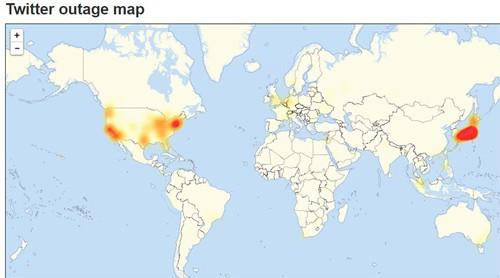 Twitter bị sập ngay trước ngày bầu cử Mỹ