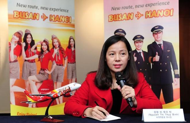 Vietjet mở đường bay Hà Nội - Busan (Hàn Quốc)