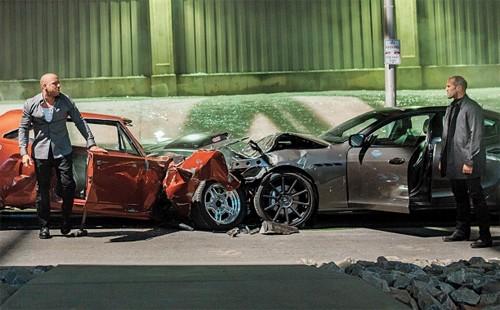 Serie phim Fast&Furious tiêu tốn 520 triệu USD tiền phá ôtô
