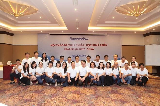 Eurowindow được vinh danh Top 100 Nơi làm việc tốt nhất Việt Nam 2016