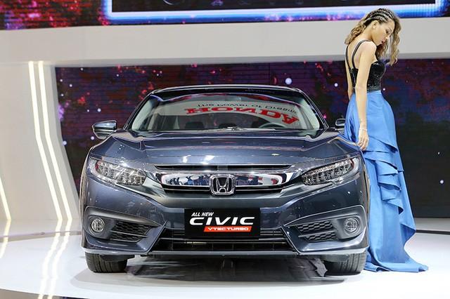 Triệu hồi hơn 300 chiếc Honda Civic tại Việt Nam để sửa lỗi