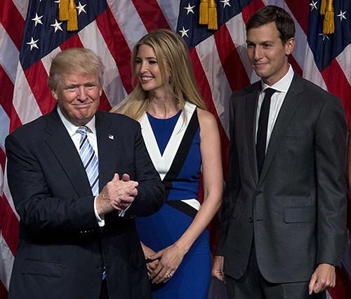Tổng thống Trump và vợ chồng con gái lọt tốp 100 người ảnh hưởng nhất thế giới