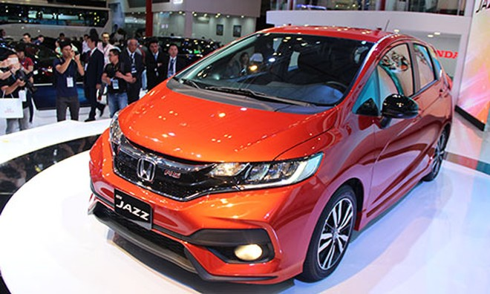 Honda Jazz 2017 - đối thủ mới của Toyota Yaris tại Việt Nam