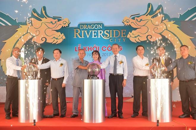 """Khởi công Dragon Riverside City """"Thành phố 5 sao trong lòng thành phố"""""""