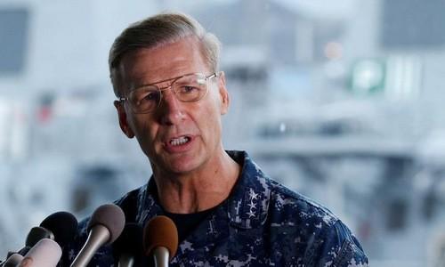 Mỹ tính cách chức tư lệnh Hạm đội 7 sau vụ tàu chiến bị đâm