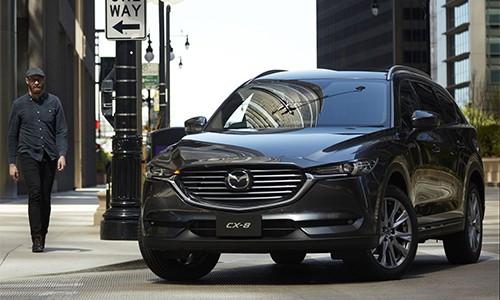 Mazda CX-8 giá từ 30.000 USD tại Nhật Bản