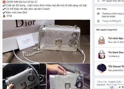 Hàng giả, hàng cấm ngập tràn 'chợ' Facebook