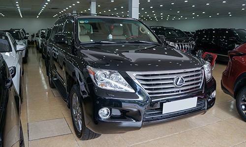 Lexus LX570 đời 2008 giá gần 2,5 tỷ - 'vua' giữ giá ở Việt Nam