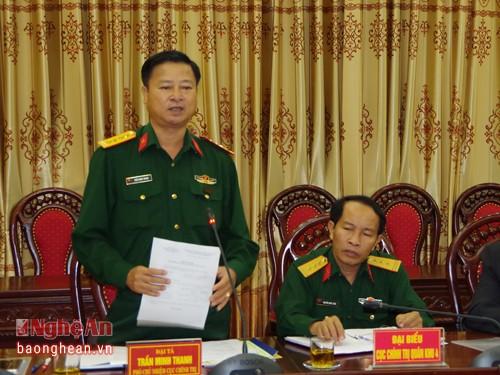 Công bố các quyết định về tổ chức, nhân sự quân đội