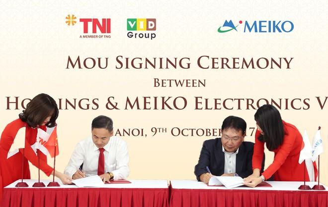 Tập đoàn điện tử Meiko (Nhật Bản) chọn Khu công nghiệp Quang Minh để đầu tư nhà máy thứ 3 tại Việt Nam