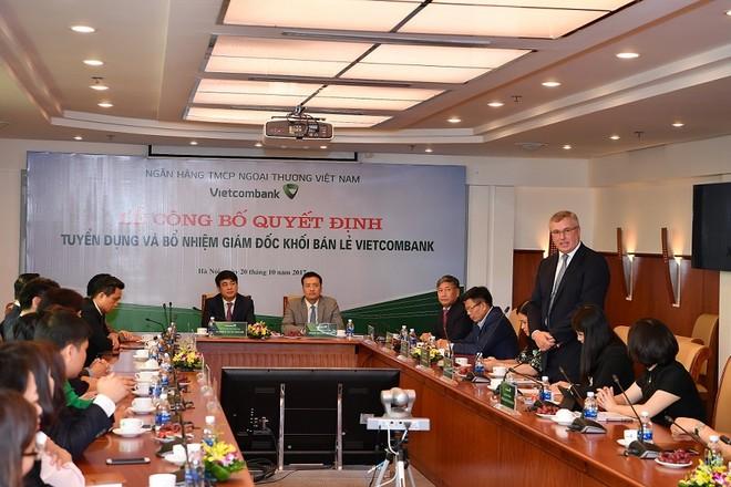 Cựu lãnh đạo HSBC Việt Nam đầu quân, lần đầu tiên Vietcombank có lãnh đạo cao cấp người nước ngoài