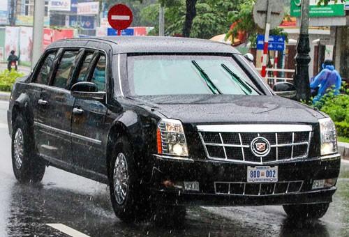 Biển số xe 'Quái thú' của Tổng thống Mỹ mang thông điệp gì?
