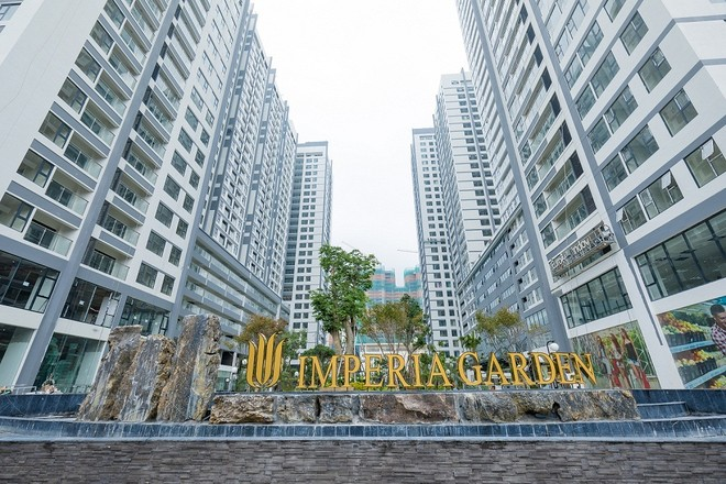 99% căn hộ tại Imperia Garden đã được bàn giao cho khách hàng