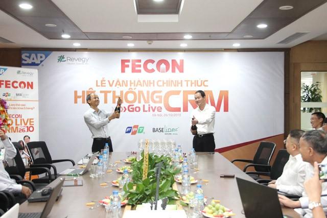 FECON chính thức vận hành hệ thống SAP CRM