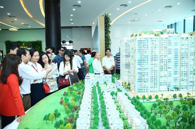 Hàng trăm khách tham dự khai trương căn hộ mẫu Imperia Garden