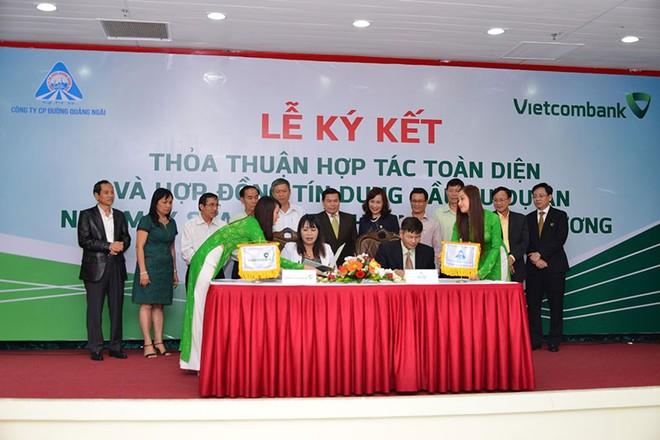 Vietcombank tài trợ 530 tỷ đồng cho QNS đầu tư nhà máy sữa đậu nành