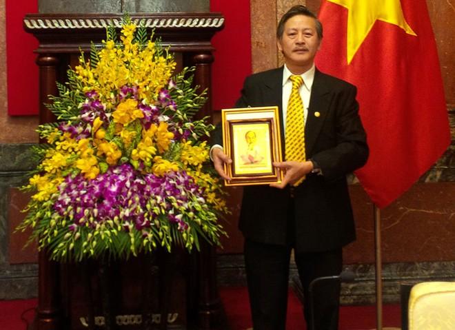 Bảo Việt nhân thọ nhận thư khen của Chủ tịch nước Trương Tấn Sang