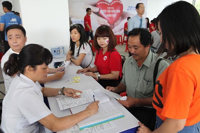 MB khu vực phía Nam tổ chức ngày hội hiến máu nhân đạo