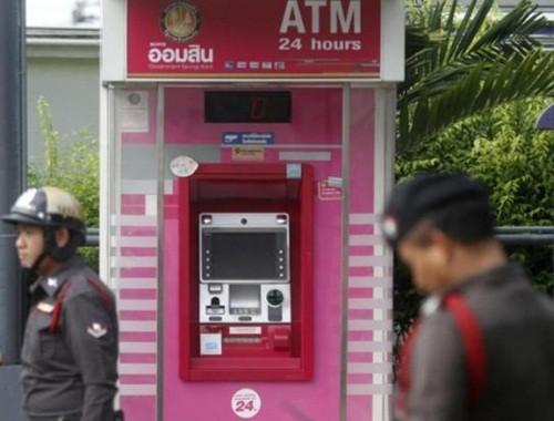 Hơn 3.000 ATM tại Thái Lan phải đóng cửa vì lo bị hack