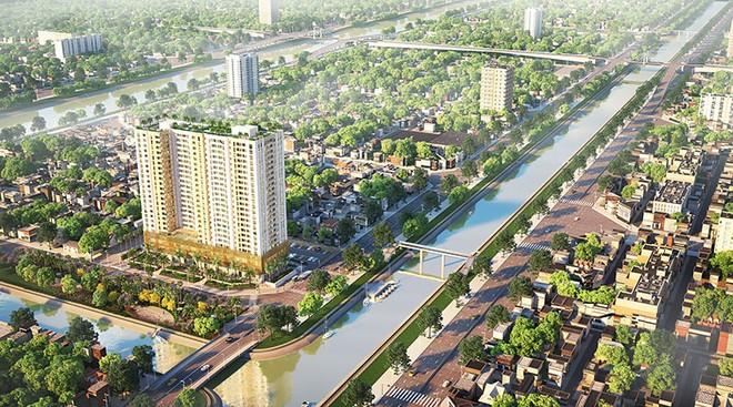 """DRH Holdings """"trình làng"""" dự án hai mặt tiền sông Aurora Residences"""