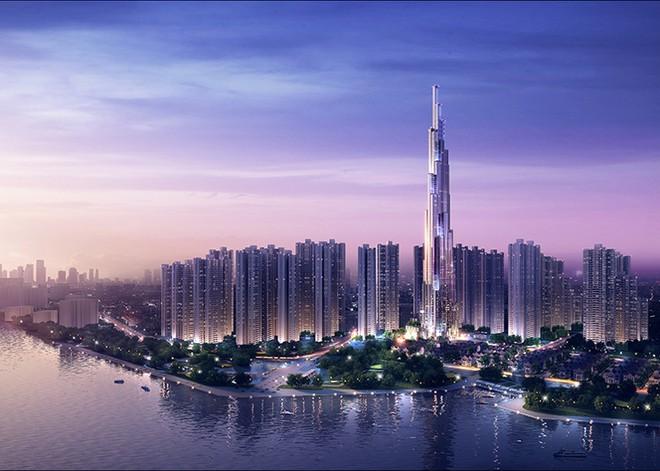 Lập kỷ lục trong đổ bê tông móng của tòa nhà cao nhất Việt Nam