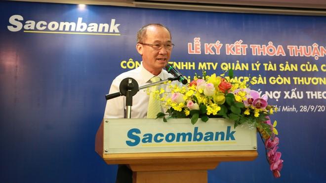 Từ nay đến cuối năm, Sacombank sẽ xử lý thêm 14.000 tỷ đồng nợ xấu