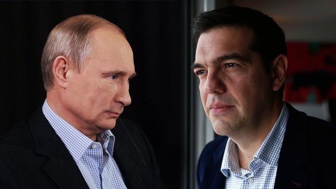 Liệu Putin có dang tay giúp đỡ Hy Lạp?
