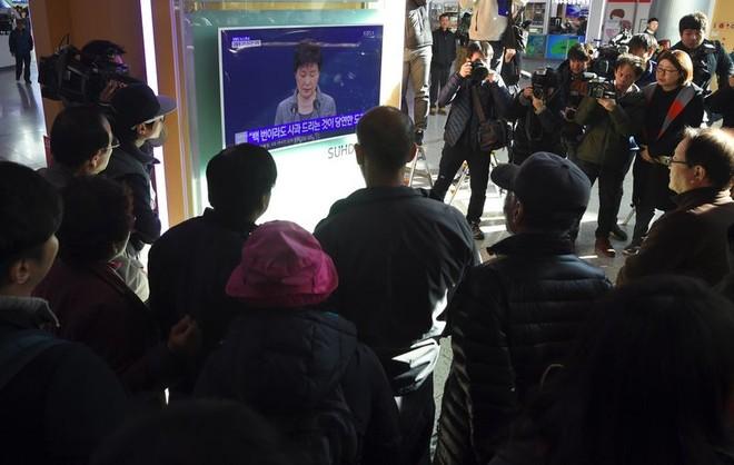 Tổng thống Hàn Quốc tuyên bố sẵn sàng từ chức