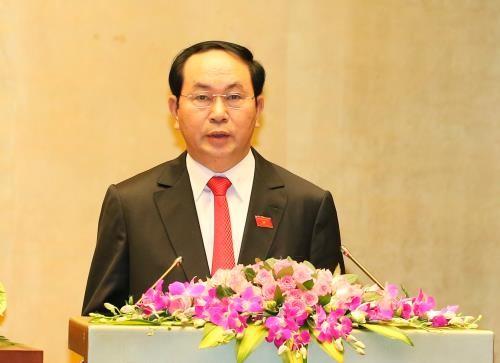 Ông Trần Đại Quang tiếp tục được giới thiệu bầu vị trí Chủ tịch nước
