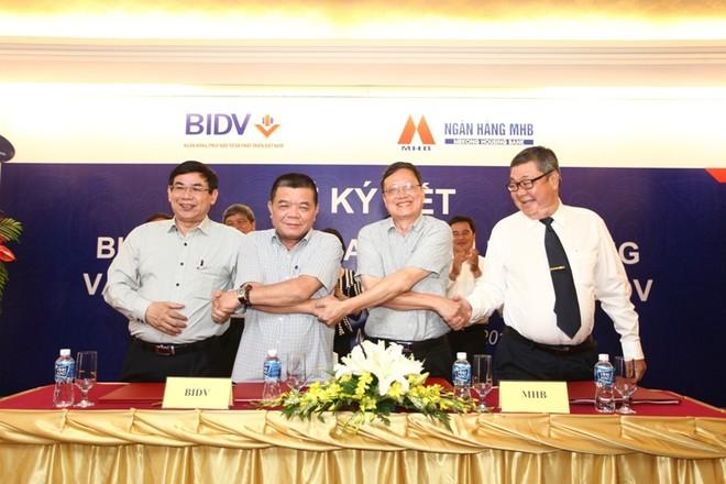 Chính thức sáp nhập hệ thống MHB vào BIDV từ hôm nay