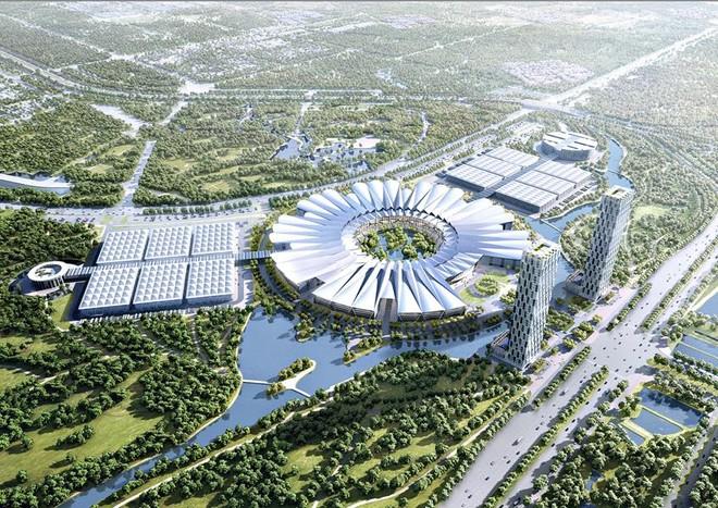 Trao giải phương án quy hoạch Trung tâm Hội chợ Triển lãm Quốc gia - Quốc tế