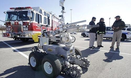 Robot cảnh sát Mỹ dùng để tiêu diệt kẻ bắn tỉa ở Dallas