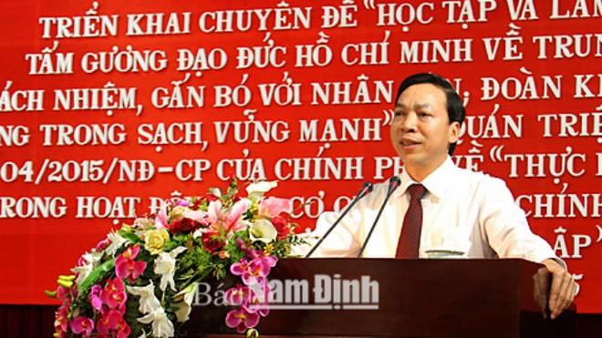 Nam Định có tân Chủ tịch HĐND Tỉnh